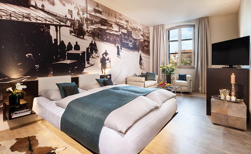 derag livinghotel am viktualienmarkt bildergalerie. Black Bedroom Furniture Sets. Home Design Ideas