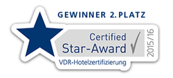 Certified Star-Award 2015/2016