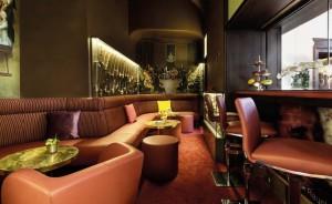 Die gemütliche Smoker´s Lounge im De Medici
