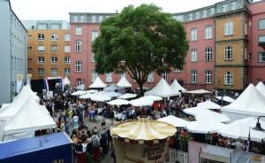 Impressionen vom Burgplatz in der Düsseldorfer Altstadt