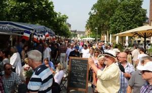 Das Frankreichfest ist ein Highlight im Düsseldorfer Event-Kalender