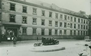 Polizeipräsidium um 1926