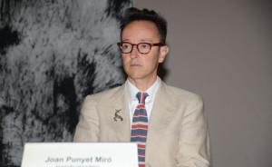 Der Enkel des großen Künstlers, Joan Punyet Miró. Foto: Simone Huhn