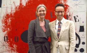 Dr. Marion Ackermann, Künstlerische Direktorin der  Kunstsammlung NRW, Joan Punyet Miró