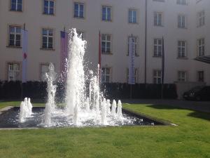 Innenhof - Springbrunnen