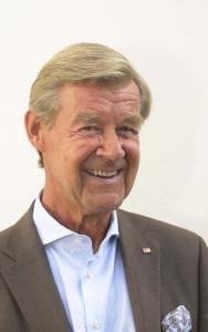 Horst Klosterkemper, Schirmherr des DRK-Charity Cups (Foto: Manfred Esser)