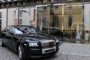 Neuer Rolls-Royce des Living Hotel De Medici