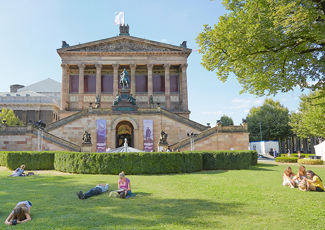 Living Hotels Blog - Berlin Museen Alte Nationalgalerie