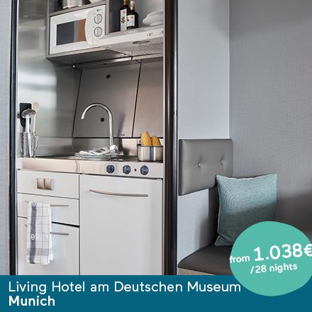 Living Hotel am Deutschen Museum München Special Offer Angebote