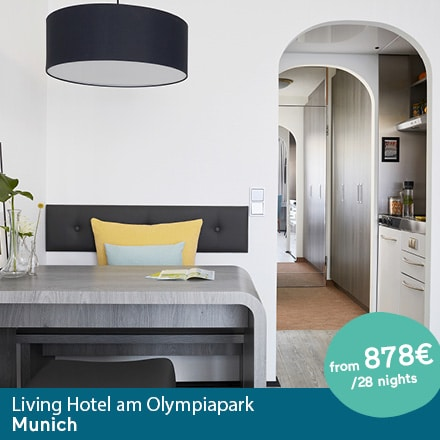 Living Hotel am Olympiapark München Special Offer Angebote