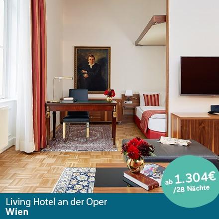 Living Hotel an der Oper Wien Special Offer Angebote