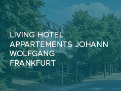 Living Hotel Appartments Johann Wolfgang Frankfurt Conichi