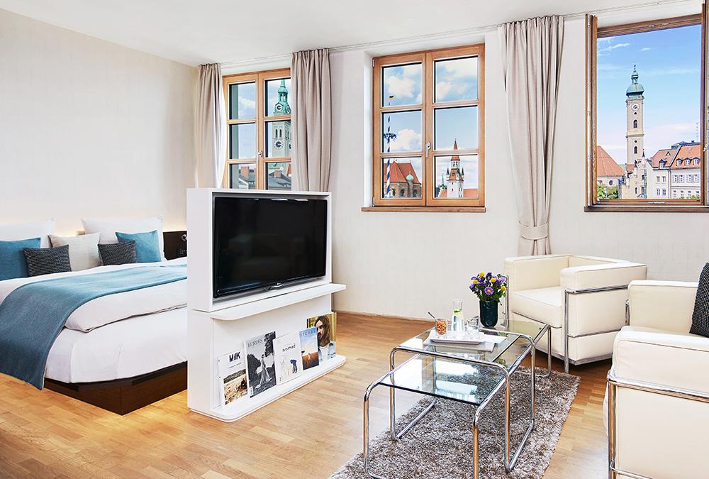 Living Hotel Das Viktualienmarkt München Penthouse Suite