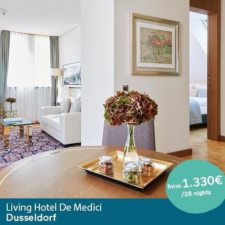 Living Hotel De Medici Düsseldorf Special Offer Angebote