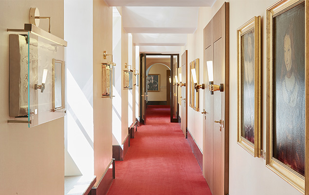 Living Hotel De Medici Düsseldorf Nachts im Museum
