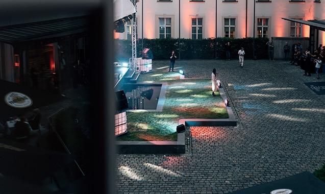 Living Hotel De Medici Düsseldorf Courtyard Concert