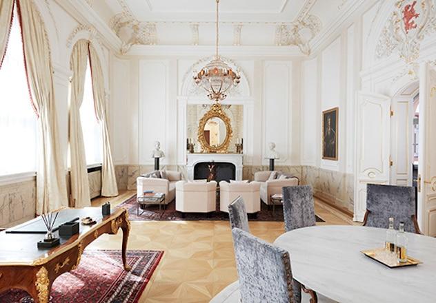 Fürstensuite Luxushotel De Medici Düsseldorf Living Hotels