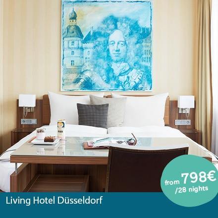 Living Hotel Düsseldorf Special Offer Angebote
