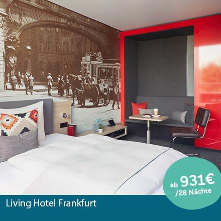 Living Hotel Frankfurt Special Offer Angebote