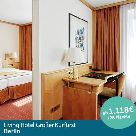 Living Hotel Großer Kurfürst Berlin Special Offer Angebote