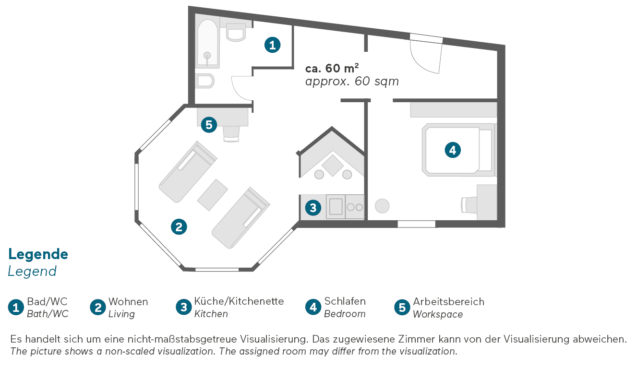Living Hotel Großer Kurfürst Berlin Executive Grundriss