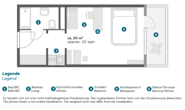 Living Hotel Kaiser Franz Joseph Doppel Business Plus Grundriss