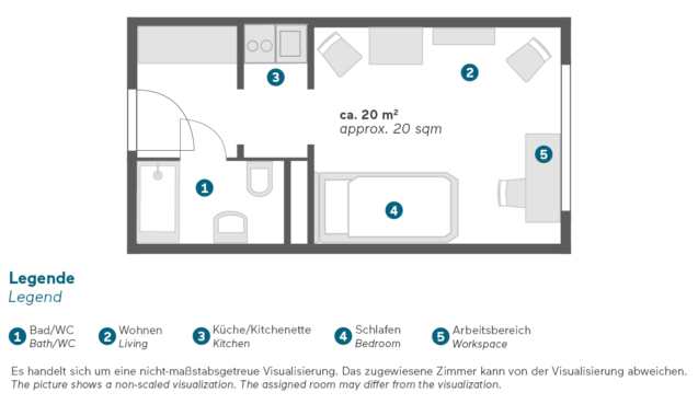 Living Hotel Kaiser Franz Jospeh Wien Economy Grundriss
