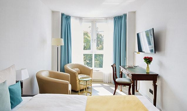 living-hotel-kaiser-franz-joseph-wien-economy-plus-schlafbereich
