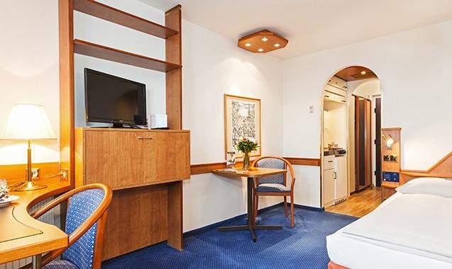 Living Hotel Kaiser Franz Joseph Wien Economy Schlafbereich