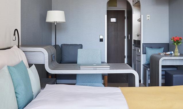 Living Hotel Kaiser Franz Jospeh Wien Wohn- und Schlafbereich
