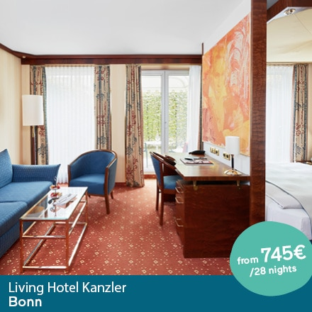Living Hotel Kanzler Bonn Special Offer Angebote