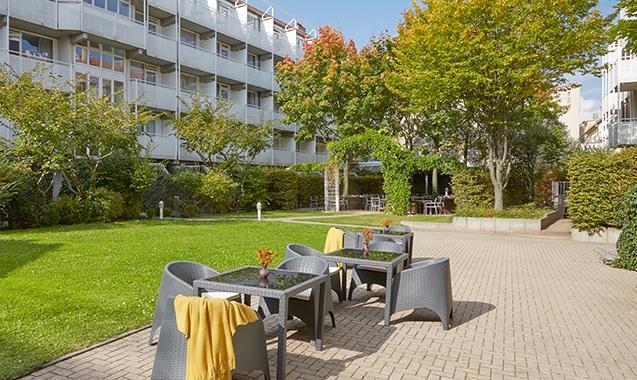 Living Hotel Nürnberg Innenhof