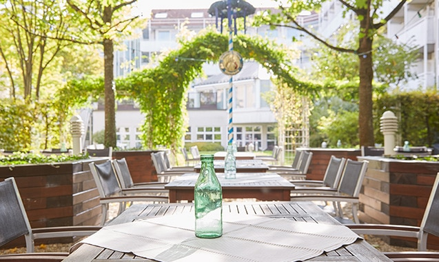 Living Hotel Nürnberg Biergarten