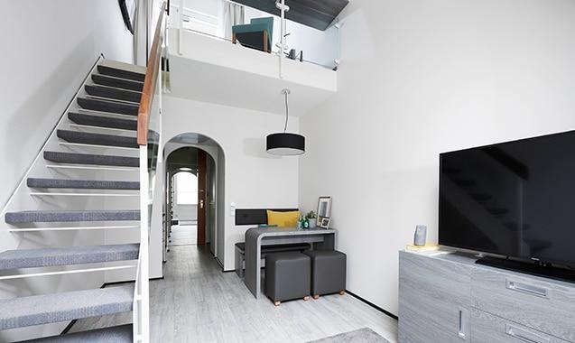 living-hotel-nuernberg-maisonette-plus-treppe