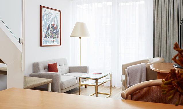 Living Hotel Nürnberg Wohnbereich