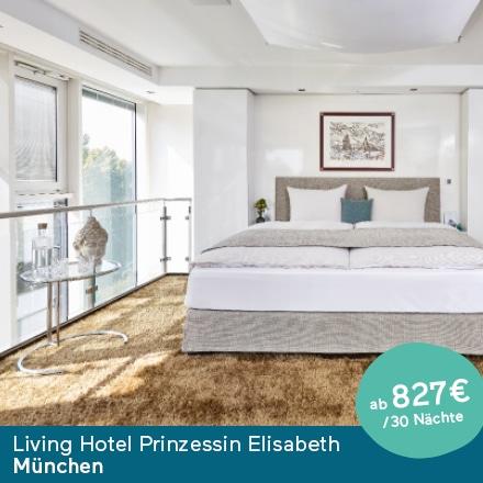 Living Hotel Prinzessin Elisabeth München Angebot
