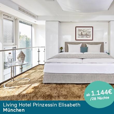 Living Hotel Prinzessin Elisabeth Muenchen Special Offer Angebote