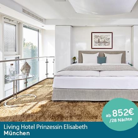 Living Hotel Prinzessin Elisbeth München Special Offer Angebote