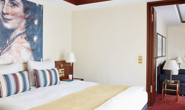 living-hotel-prinzessin-elisabeth-münchen-delxue-schlafbereich