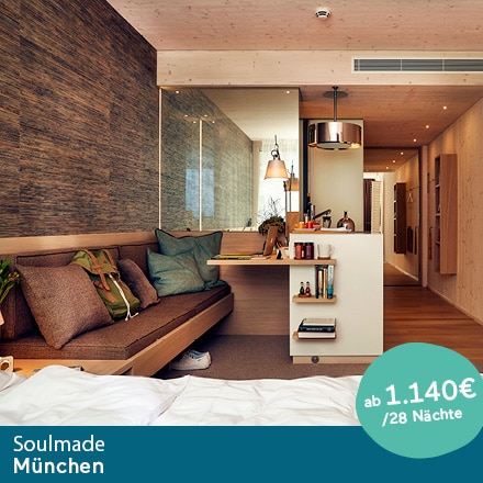 Living Hotel Soulmade München Special Offer Angebote