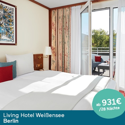 Living Hotel Weißensee Berlin Special Offer Angebote