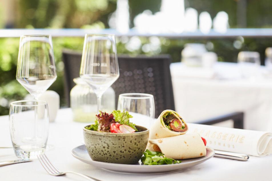 Spitzen-Kulinarik in der Brasserie Stadthaus im Living Hotel De Medici in Düsseldorf