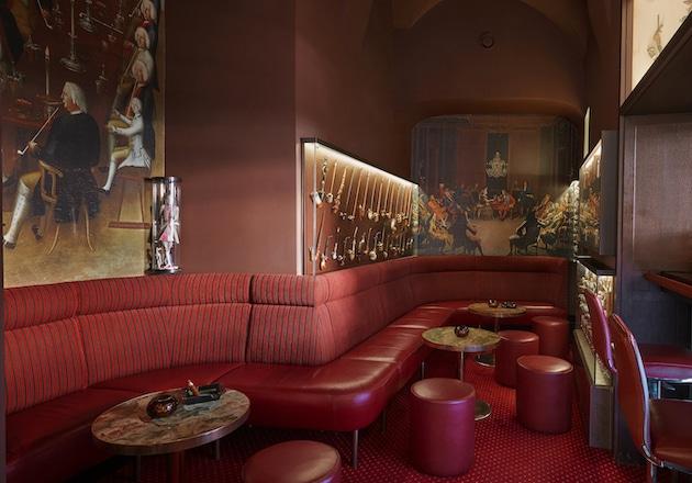 Smoker´s Lounge Living Hotel De Medici Düsseldorf