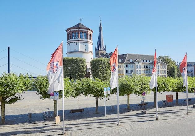 Schlossturm Düsseldorf Altstadt