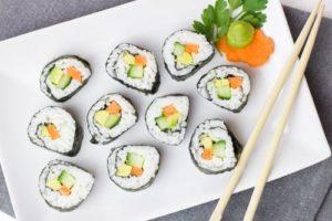 Sushi Japan-Viertel Düsseldorf