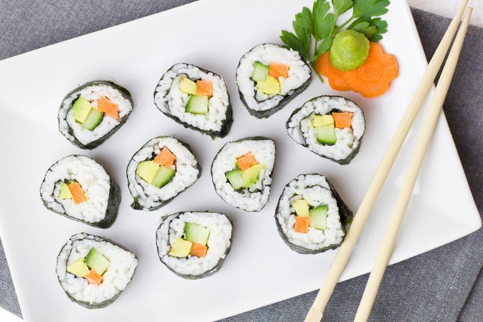 Leckeres Maki Sushi Japan ViertelDüsseldorf