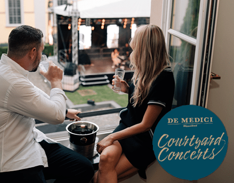 Living Hotel De Medici Düsseldorf Courtyard Concerts