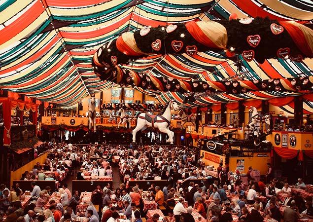 Paulaner Festzelt Oktoberfest München