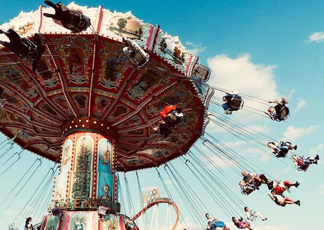Living Hotels München Oktoberfest karusell