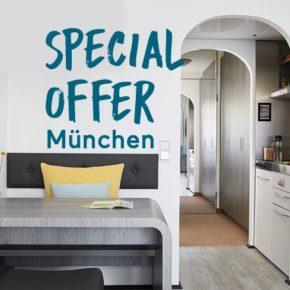 Ihr Apartment mit Küche in München